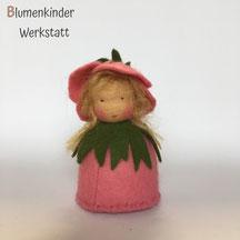 Blumenkinderwerkstatt Heckenrose Kegelpuppe