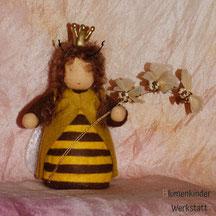 Blumenkinderwerkstatt  Bienenkönigin