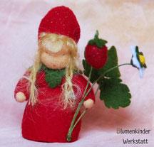 Blumenkinderwerkstatt Erdbeere klein