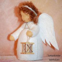 Blumenkinderwerkstatt Engel mit Laterne