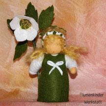 Blumenkinderwerkstatt Christrose weiß
