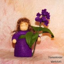 Blumenkinderwerkstatt Flieder dunkellila