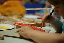 Kunstkurs in der in der Gewerbeschule G3