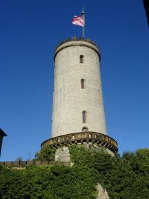 Die Sparrenburg -Wahrzeichen der Stadt Bielefeld