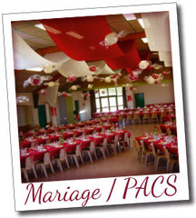 decoration mariage pacs