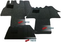Autoteppich/ Autofussmatte für Fiat Ducato von Typ 230- Typ 280/ 290