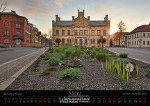 Der Rudolstadt Kalender, das perfekte Geschenk. Damit bleibt man das ganze Jahr in Erinnerung. Die alte Post in Rudolstadt