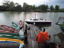 Bootstour und Kayaking Ream Fluß Sihanoukville