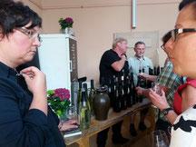 dasWeingut Kurth zählt mit zu den Garagenwinzern, da es sich um ein ganz kleines Weingut handelt.