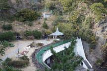 錦ヶ浦一帯を一望できる錦崎庭園