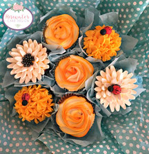 Mothers day gift, edible cupcake bouquet