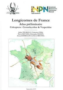 Longicornes de France - Atlas préliminaire