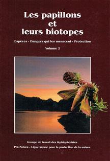 Les papillons et leurs biotopes - Volume 2