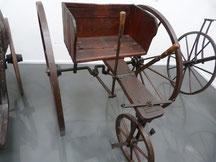 Fahrmaschine mit Handbetrieb, 19. JH, Horex-Museum Bad Homburg