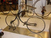 Fahrrad, 19. JH., ausgestellt auf der Messe in Bremen 2008