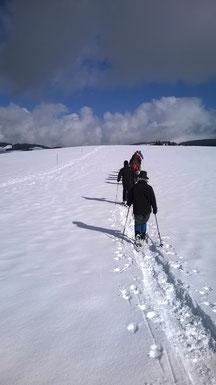 Schneeschuhwanderung am Windeck