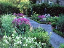 Der üppige Bauerngarten bei Garten-Christensen