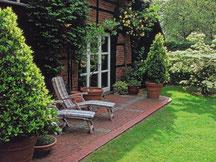 Rasen- und Heckengarten bei Garten-Christensen