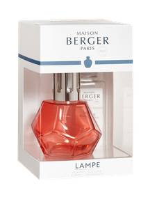 Lampe Berger Giftset Geometry Rouge