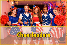 Amerikaanse cheerleaders, cheerleaders