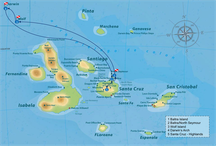 individual itinerary map