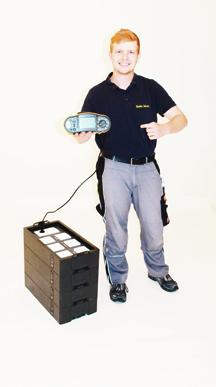 Hans Mathis Junge bei Elektro Schwien