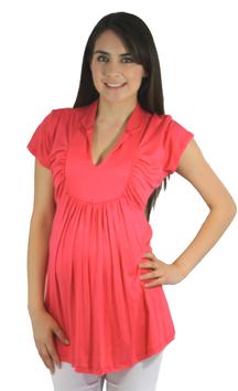 pink pregnancy top