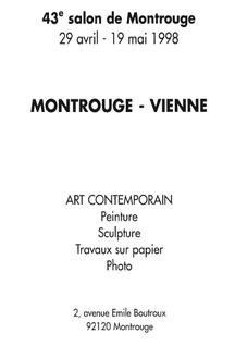 1998 - Salon d'Art Contemporain, Montrouge - Roman Gorski