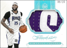 DeMARCUS COUSINS / Jumbo Patch - No. PT-DC  (#d 9/20)