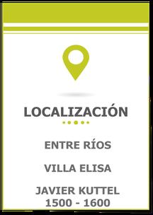 Lote en Villa Elisa, Entre Ríos; Lote en Villa Elisa; Lote 750 m² en Villa Elisa