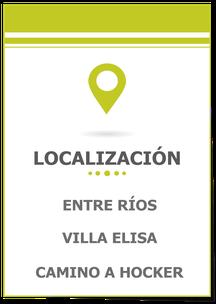 Terreno en Villa Elisa Entre Ríos; Terreno 1 Hectárea