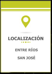 Terreno en San José Entre Ríos; Terreno 3348 m²; Carina Rossier Inmobiliaria Vende Terreno
