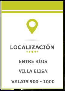 Carina Rossier Inmobiliaria Vende Lote en Villa Elisa Entre Ríos; Se vende Lote con Todos los Servicios en Villa Elisa Entre Ríos