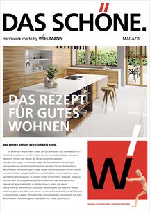 Magazin Das Schöne der Schreinerei Wiedmann
