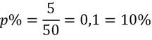 Rechenweg zur Berechnung des Prozentsatzes