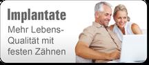 Implantate: Mehr Lebensqualität mit festen Zähnen! (© Yuri Arcurs - Fotolia.com)