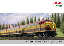 Märklin Export Modelle 2012