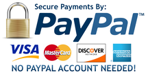 No PAYPAL account needed!