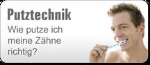 Putztechnik - wie putze ich meine Zähne richtig (© proDente e.V.)