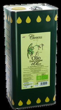 Olio Extra Vergine di Oliva da Agricolture Biologica