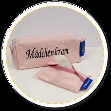 Taschentüchertasche Reißverschlußtasche Kosmetiktasche