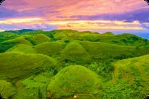 photo aérienne des teletubbies de Nusa Penida Tour