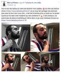 """les tabliers pour barbus """"les barbus chics"""""""