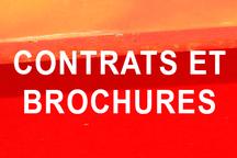 CONTRATS ET BROCHURES