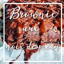 cuisinouverte.com, brownie aux noix de pécan, vegan,sans sucre ni matière grasse ajoutés, avec option sans gluten.