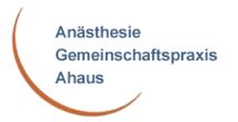 Bild: Logo Anästhesie Gemeinschaftspraxis Ahaus