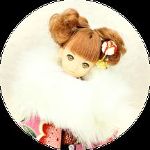 リカちゃん 着物,ブライス 振袖,人形 着物,Blythe kimono,ショール
