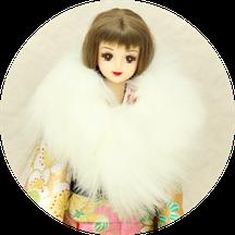 ジェニー 着物,momoko 振袖,プーリップ 和服,Pullip kimono,Jenny furisode,ショール