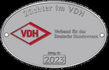 Wir sind Mitglied im VDH Verband für das Deutsche Hundewesen sowie im KfT Klub für Terrier e.V.