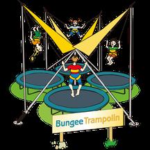 Bungee-Trampolin Rodler-Treff
